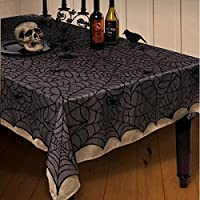 Halloween Tablecloth Midnight Lace