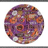 [紙皿]ペーパートレー・6P/ハロウィン 【ハロウィン・パープル 】