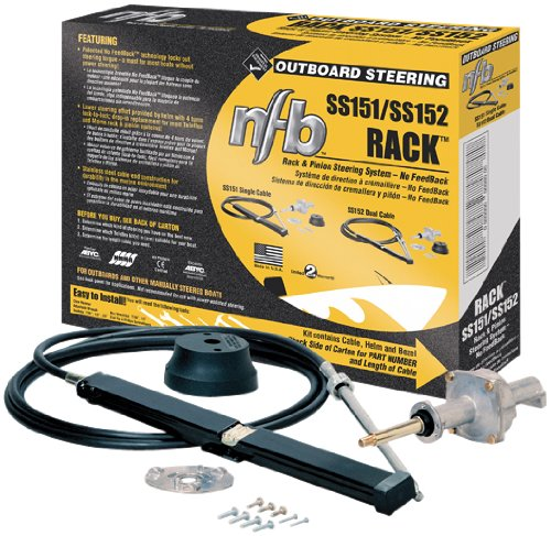 SeaStar SS151 SeaStar SS15113 13 Feet, No Feedback Single Rack Package (Seastar Steering Wheel compare prices)