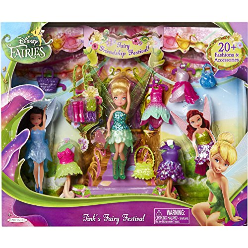 Disney Fairies 4.5 Tink s Friendship Festival Set
