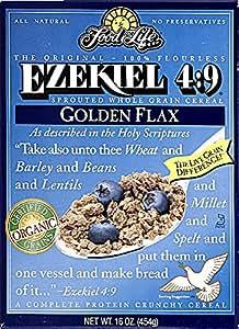 Food For Life Ezekiel 4:9 Golden Flax Cereal ( 6x16 OZ)