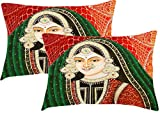 Sleep nature's mughals printed pillow cover pack of 2