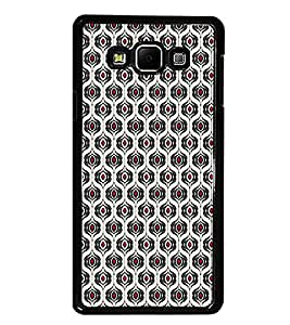 PrintDhaba Pattern D-5923 Back Case Cover for SAMSUNG GALAXY A8 (Multi-Coloured)