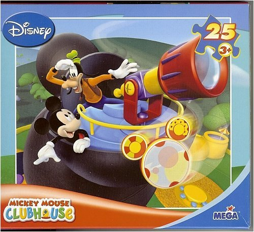 Mickey Mouse Clubhouse 25Pc Puzzle ~ Look
