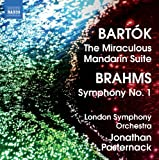 Brahms/ Bartok: Symphony No.1/ Suite From The Miraculous Mandarin London Symphony Orchestra