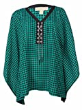 Michael Kors Women's Lace Up Poncho Top