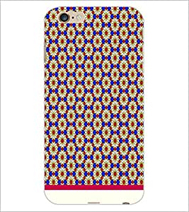 PrintDhaba Floral Pattern D-1543 Back Case Cover for APPLE IPHONE 6S (Multi-Coloured)