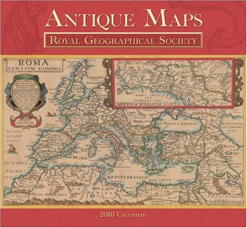 Antique Maps 2010 Calendar