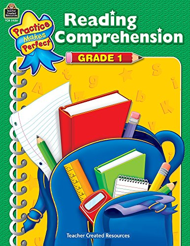 Reading Comprehension: Grade 1 (Practice Makes Perfect)