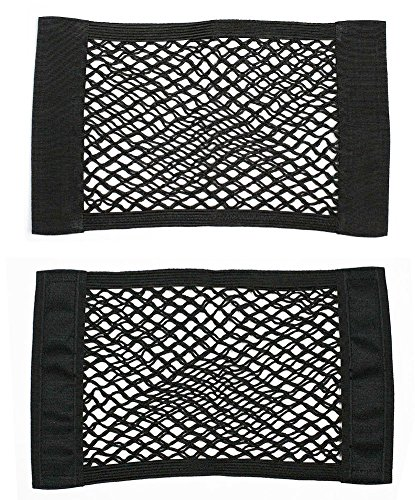 Yosoo 2 Pack Car Back Rear Trunk Seat Magic Sticker Elastic String Net Mesh Storage Bag Pocket Cage Organizer (Side Cargo Net compare prices)