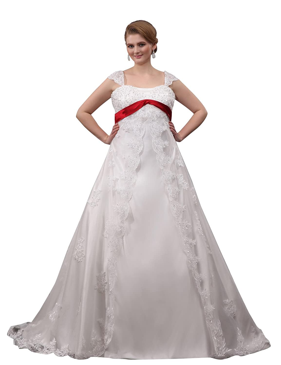 JOLLY BRIDAL Lace Beading Bridal Gown Plus Size jolly 100g