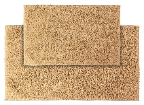 Garland Rug 2-Piece Queen Cotton Washable Rug Set, Natural front-300104