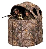Ameristep Deluxe 2 Person Tent Chair Blinds, Realtree Xtra