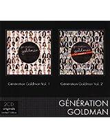 Coffret 2 CD (Génération Goldman Vol 1 & Génération Goldman Vol 2)