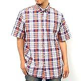 (コスビー) COSBY大きいサイズ ボタンダウン チェック 半袖 シャツ