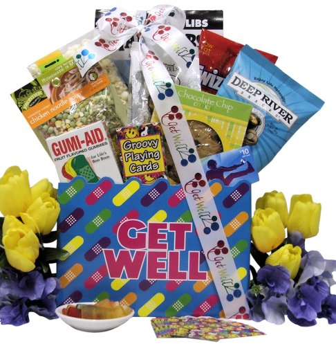 Great Arrivals Teen Get Well Gift Basket for