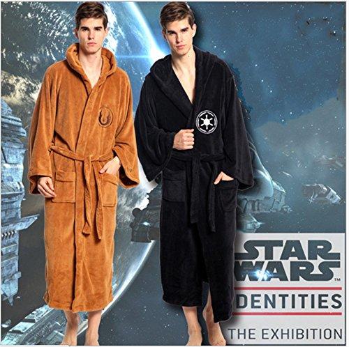 Star Wars Galactic Empire Unisex Darth Vader Sith Cora Fleece Bathrobe