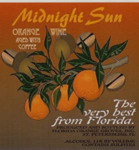 NV Florida Orange Groves Midnight Sun - Coffee/Orange Fruit Wine 750 mL