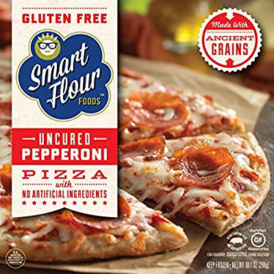 Smart Flour Foods; Uncured Pepperoni Pizza, 10.1 Ounce (Case of 6)