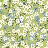 Fabric Liberty - Mitsi Green x10cm