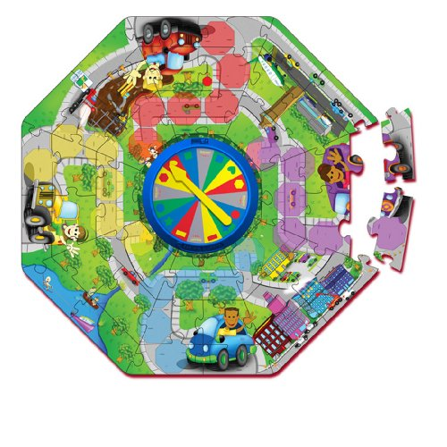 Cheap Fun The Learning Journey Explore and Learn Colors and Shapes City Floor Puzzle (B001EY5HAO)