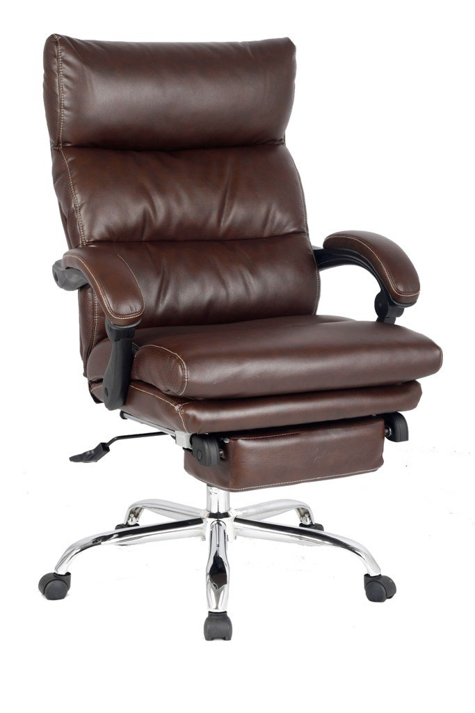 Recliner Office Chair Thick Padded Executive Chair Napping