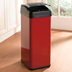 Brylanehome 48-Lt. Motion Sensor Trash Can