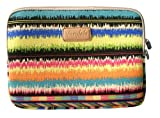 Varylala Canvas Fabric Tablet Sleeve Case Bag for Microsoft Surface 2 Surface Pro Surface RT and Sony Xperia Tablet Z / Asus Transformer Prime / Asus MeMO Pad Smart 10 / Acer Iconia A3 / Nokia Lumia 2520 (Music note pattern, 10.8 inch)