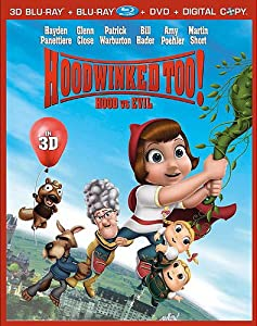 Hoodwinked Too! Hood Vs. Evil [Five-Disc Combo: Blu-ray 3D/Blu-ray/DVD/Digital Copy/Bonus CD]