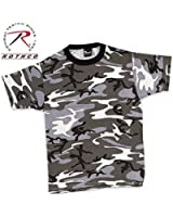 Mens Camouflage T-Shirt, City Camo by Rothco