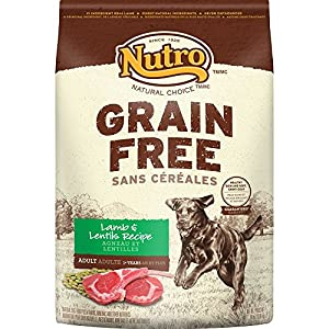 NUTRO Grain Free Adult Lamb and Lentils Recipe Dry Dog Food 24 Pounds
