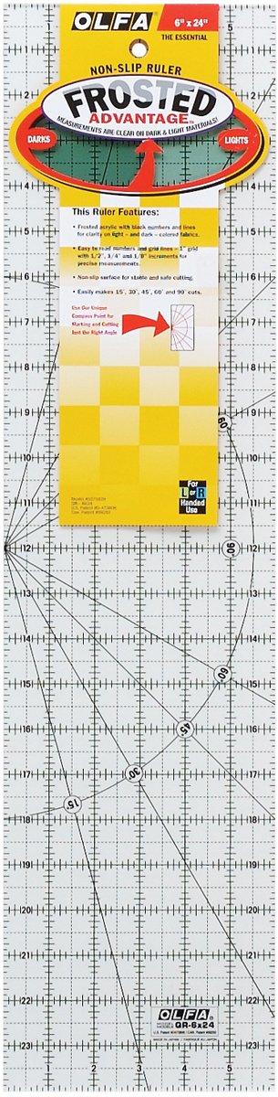 Olfa QR624 - Esquina rectas de marcos, color transparente   Comentarios y más información