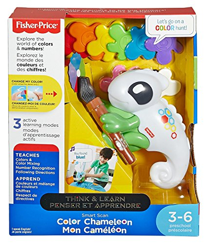 Fisher-Price Think & Learn Smart Scan Color Chameleon JungleDealsBlog.com