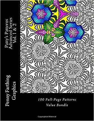 Patty's Patterns - Advanced Series Vol. 1 & 2: 100 Full-Page Patterns Value Bundle