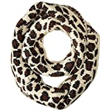 Betsey Johnson Women's Pretty Kitty Infinity Muffler, Ivory, One Size