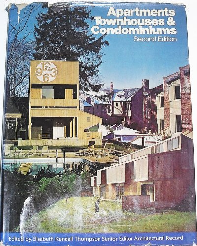 Apartments, Townhouses, and Condominiums PDF