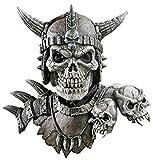 Kronos Mask And Shoulders Skeletion Warrior Latex Adult Halloween Costume