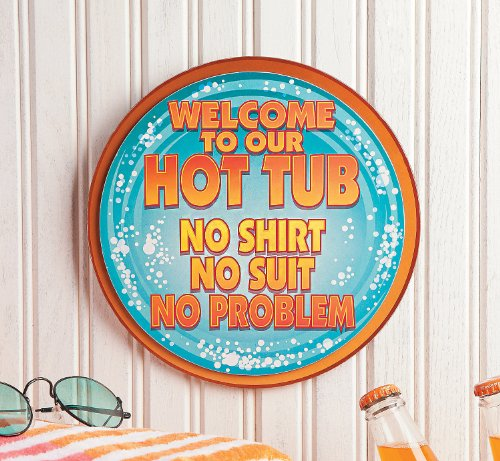 Hot Tub Signs uk Hot Tub Wall Sign Home