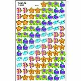 Trend Enterprises トレンド superShapes Stickers Sea Life 【ごほうびシール】 海の生きものご褒美シール (800枚入り) T-46031