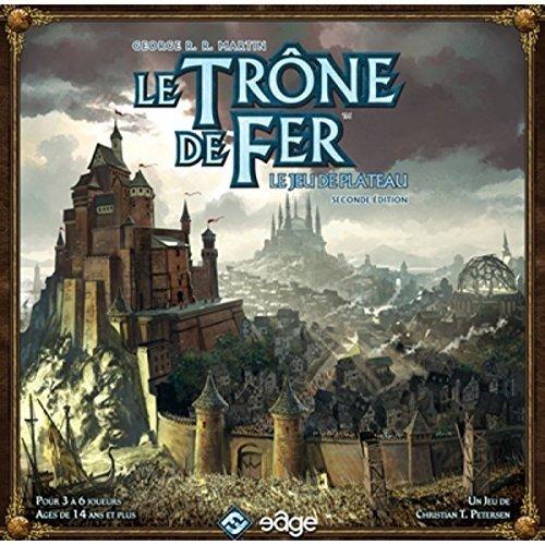 Asmodee - UBITF04 - Le Trône de Fer Seconde Edition