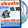 Ubuntu Linux 15.10, DVD d'installation 4-Disques Et Reference Set