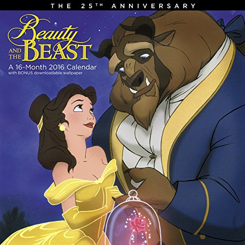 Beauty and the Beast Wall Calendar (2016)