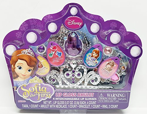 Sofia the First Lip Gloss Amulet by Disney