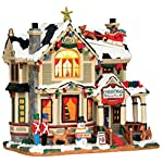 Lemax Village Collection Christmas Home Tour #55932 by Lemax