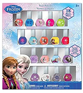 Frozen Nail Polish Box, 18 Count