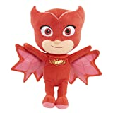 PJ Masks Just Play Bean Owlette Plush (Color: Red, Tamaño: One Size)