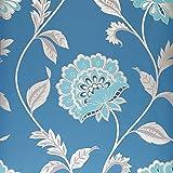 Dulux Feature Wallpaper - Easy Hang - Kerala - Sapphire - 31-233