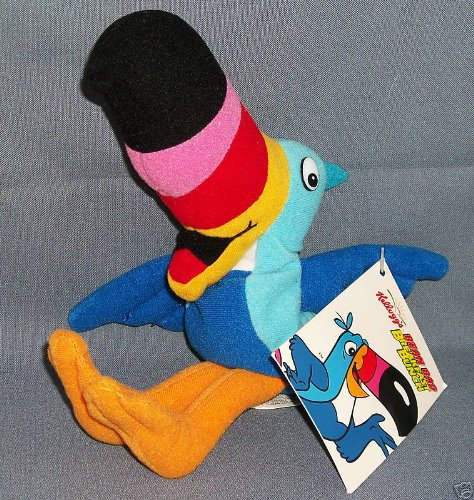 Kelloggs TOUCAN SAM BREAKFAST BUNCH Collectible Bean Bag (1999) - 1