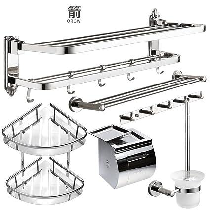Portasciugamani in acciaio inox/Asciugamano/[Scaffale da bagno]/Pacchetto Accessori bagno -M