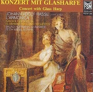 Konzert mit Glasharfe
